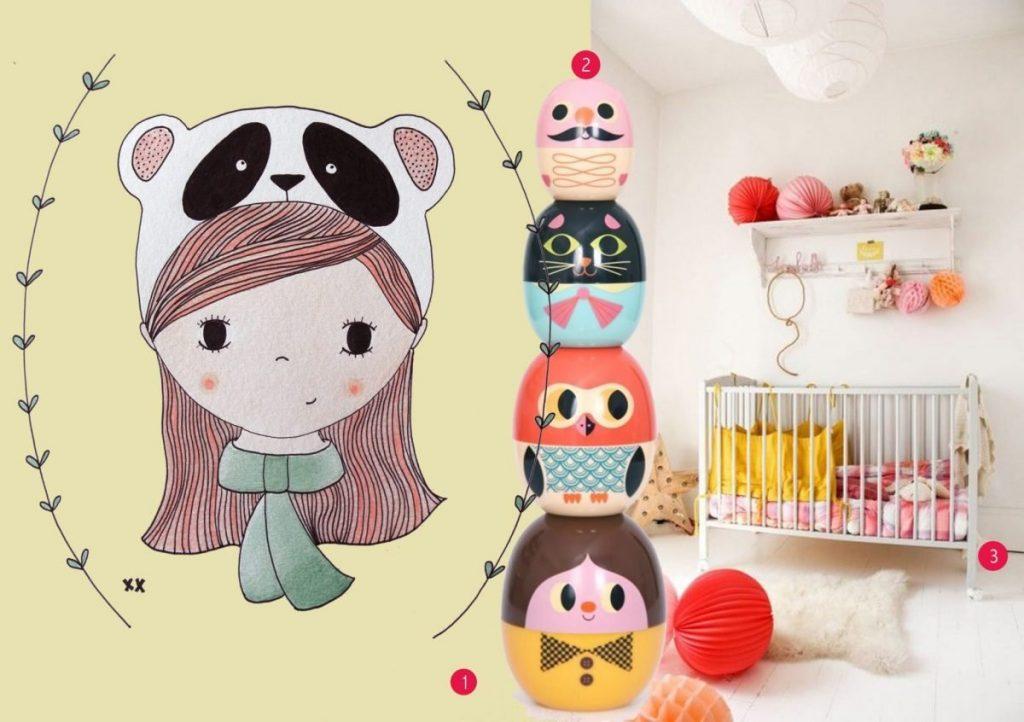 nr. 1: handmade illustratie door mij| interesse? Kijk hier voor meer informatie en voorbeelden | nr. 2:Babyoshka te koop bij kidsdinge | nr. 3: Gevonden op thesocialitefamily