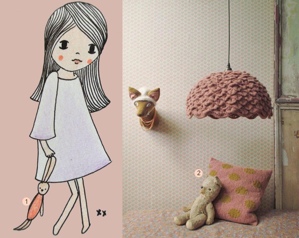 handmade illustratie: interesse? kijk hier voor meer info en voorbeelden | nr. 2: Gevonden op pitimana.canalblog
