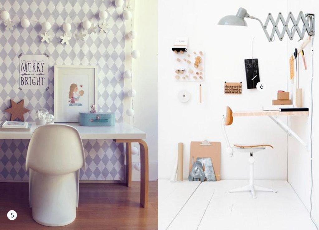 nr. 1: mommo design- IKEA HACKS kids desk hackable with LINNMON tabletop and FROSTA stool legs | nr. 2: gevonden op awwards