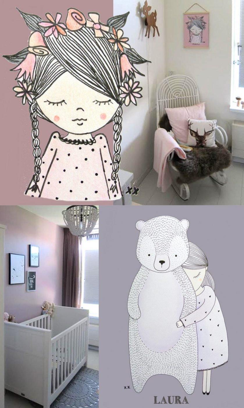 Eames Schommelstoel Babykamer.Binnenkijken In De Mooie Babykamer Van Lauren Kinderkamervintage