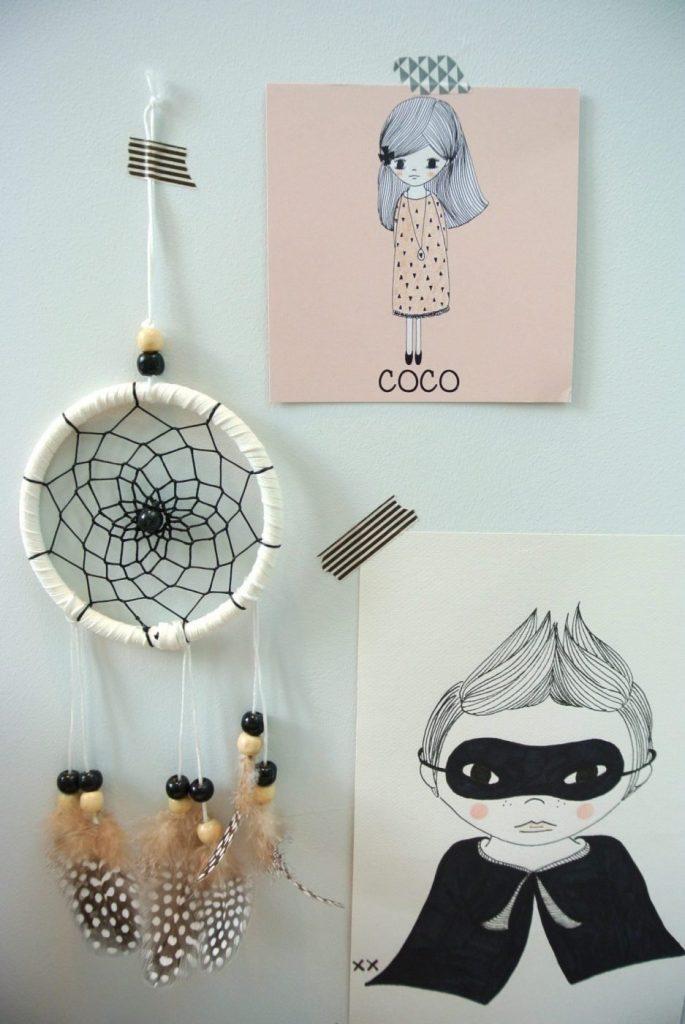 Mijn illustratie op het unieke geboortekaartje van Coco. Wil jij dat ook? Ik ontwerp als je dat wil zowel de voorkant als de achterkant van je kaartje. Mail: haskesommers@gmail.com voor meer info.