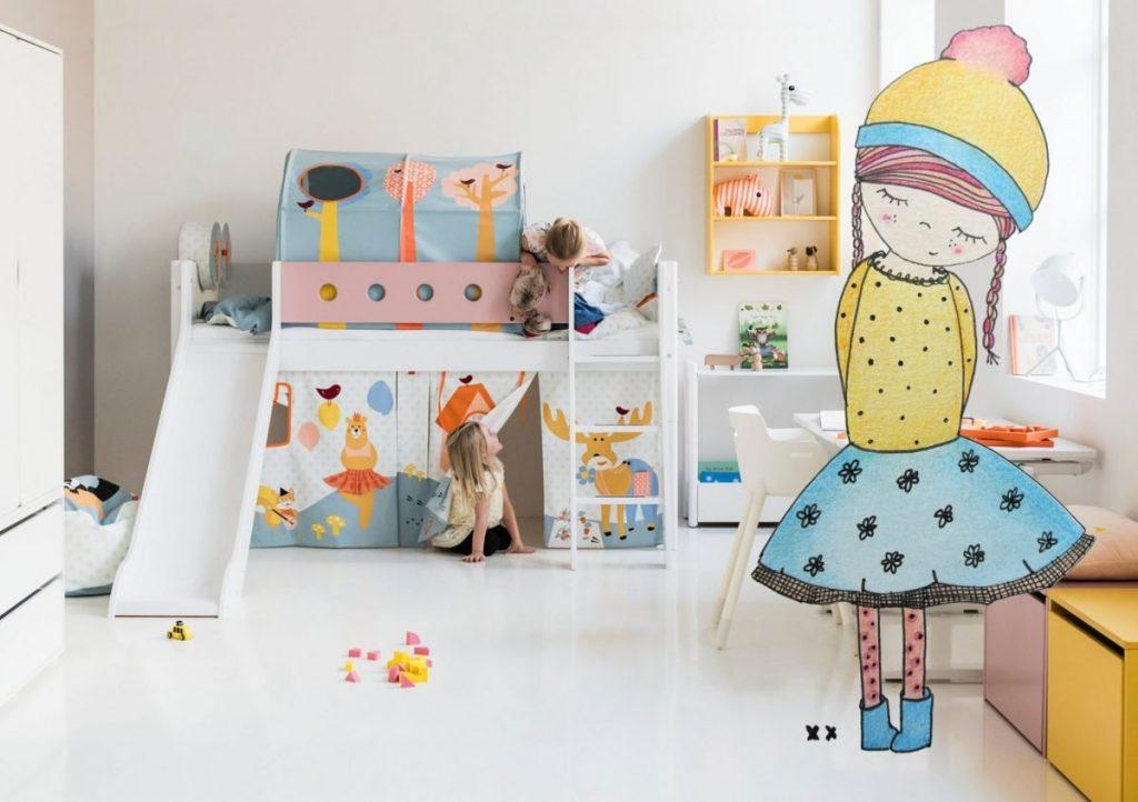 Kinderkamer van Kidsgigant en printable van mij.