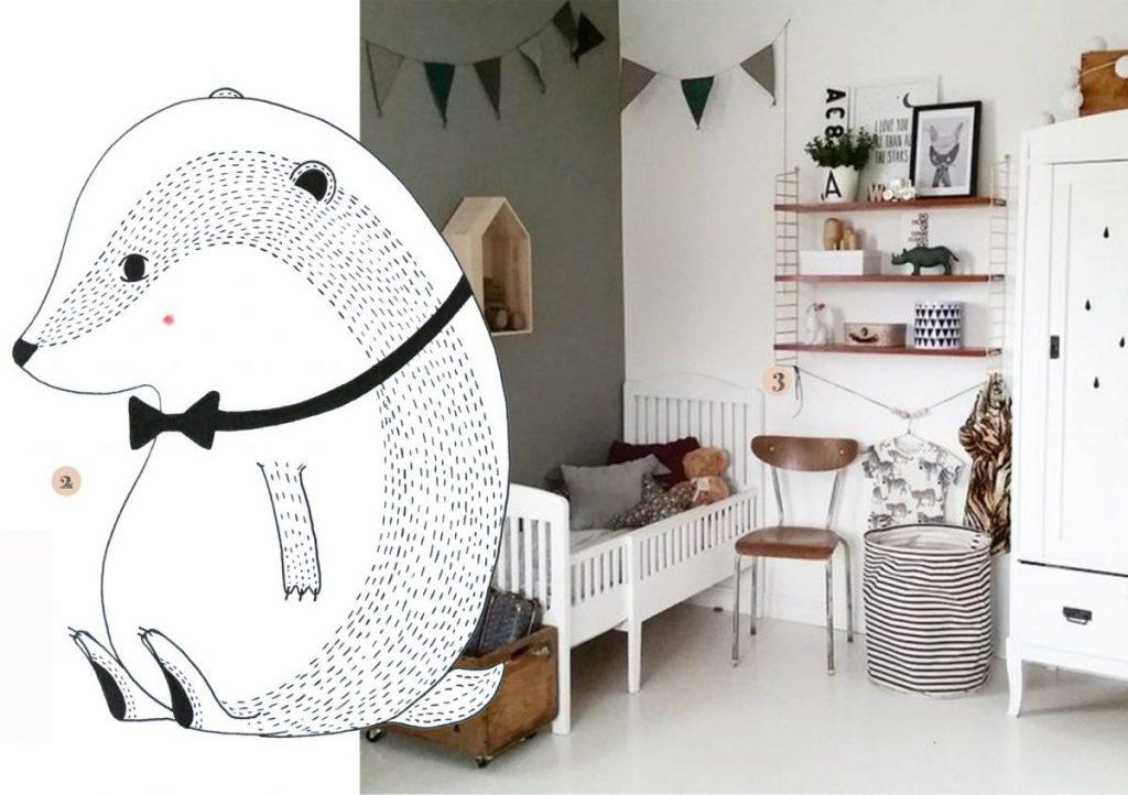Kleuren Voor Babykamer : Rustige kleuren babykamer kinderkamervintage
