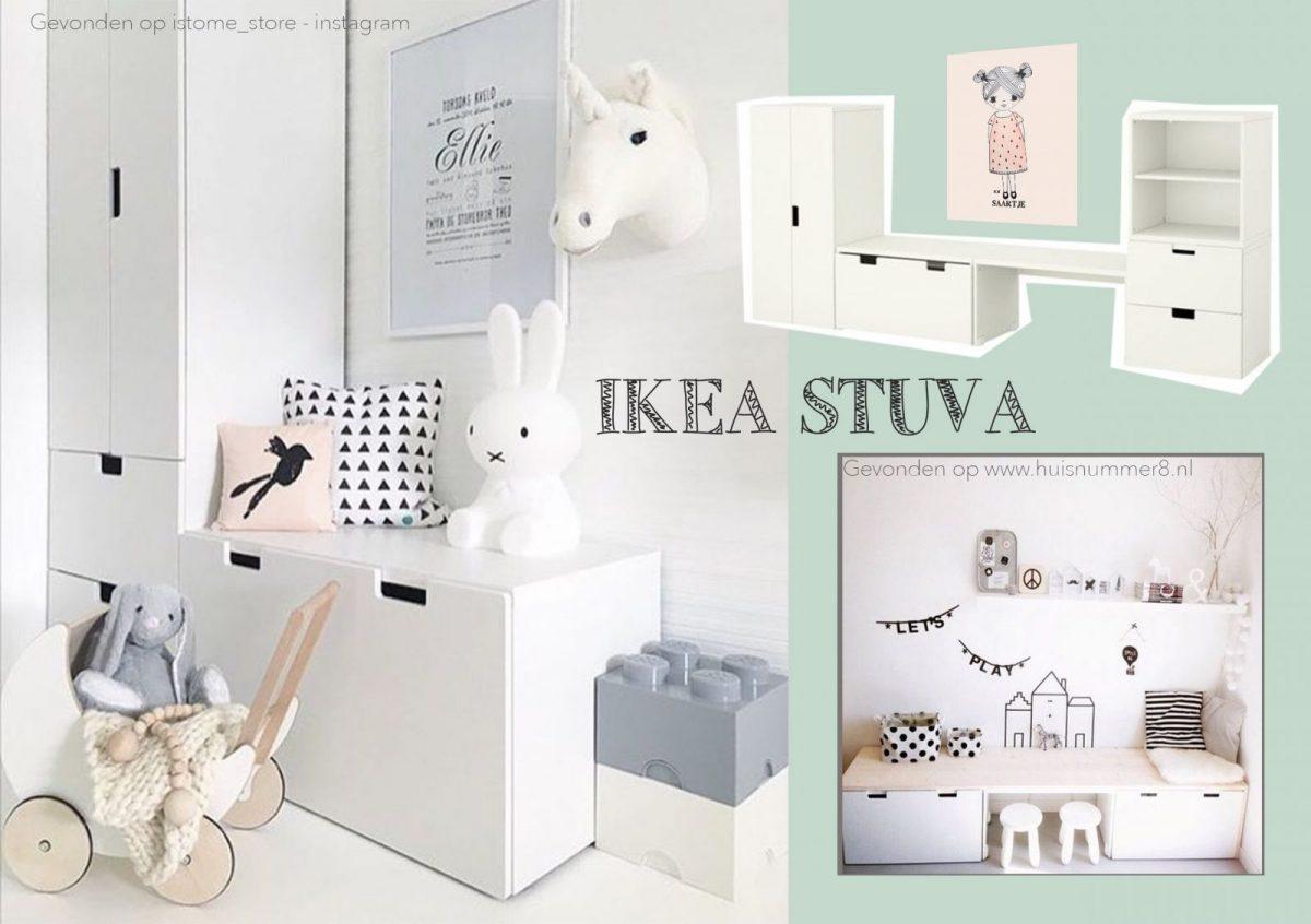 Vaak IKEA Stuva kast kinderkamer | Kinderkamervintage &EQ33