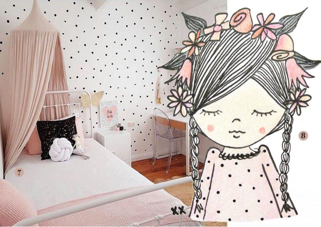 mooie meisjeskamer foto voorbeelden