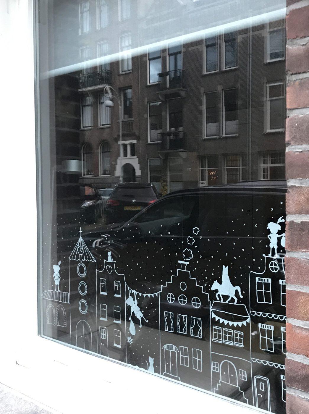 Verrassend Sinterklaas raam decoratie | Kinderkamervintage HY-73