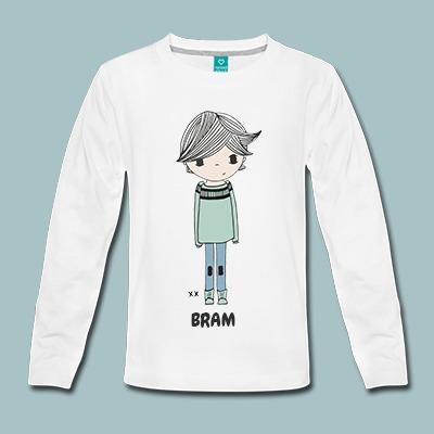 t-shirt bedrukken met naam