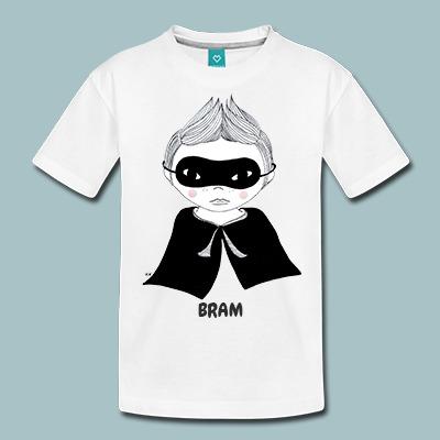 Kinderen premium t-shirts korte mouw