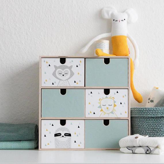 IKEA Moppe miniladekast